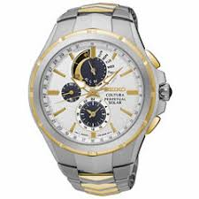 seiko men s watches for jewelry watches jcpenney seiko mens coutura solar two tone silver and gold bracelet watch ssc560