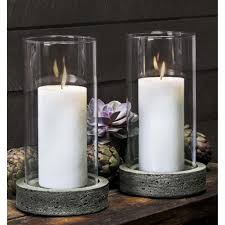 Decorating: Fancy Tall Textured Glass Hurricane Candle Holder Design Ideas  - Wide Glass Hurricane Candle