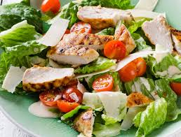 grilled chicken salad. Simple Salad And Grilled Chicken Salad