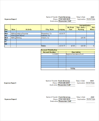 Expense Report - 11+ Free Word, Excel, Pdf Documents Download | Free ...
