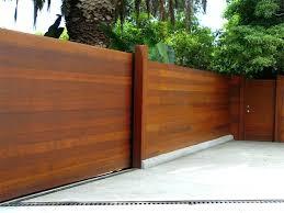 horizontal fence styles. Modern Horizontal Fence Styles