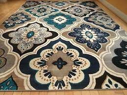 albion blue brown area rug image all