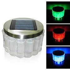 multi color outdoor solar jar design. Crystal RGB Color-Changing LED Solar Powered Garden Light -Solar Table Light- Small Night In Jar Design 790266 2018 \u2013 $59.99 Multi Color Outdoor