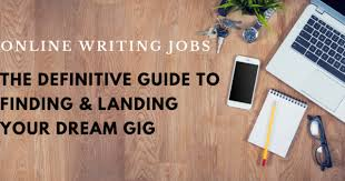 online writing jobs the definitive guide to finding and landing online writing jobs the definitive guide to finding and landing your dream gig