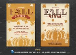 harvest festival flyer photos graphics fonts themes templates fall festival flyer template