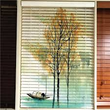 arabic european indian style tiger animal design wooden blinds 3d printed blind blackout window curtain