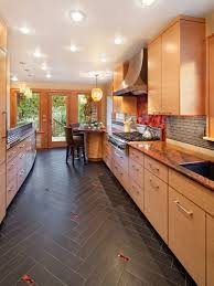 Porcelain Tile For Kitchen Floor Porcelain Tile Kitchen Floor Ideas