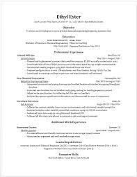 Resume Of An Engineering Student Master S Resume Engineering