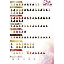 Colour Touch Colour Chart Wella Colour Touch For Sale Ebay