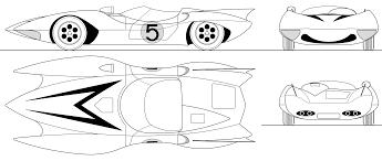 Speed Racer Mach 5 Blueprint Download