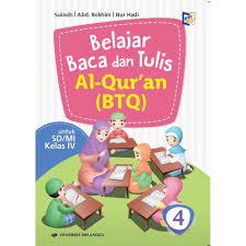 Silabus btq mi kelas 1 6. Buku Pelajaran Sd Belajar Baca Dan Tulis Al Qur An Btq Kelas 4 K2013 Shopee Indonesia
