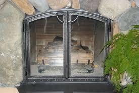 frameless glass fireplace doors. Full Size Of Wood Burning Fireplace Glass Doors Frameless Custom Screens Near A