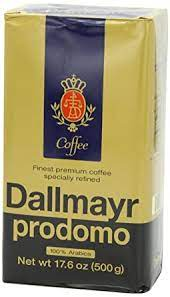 Did you scroll all this way to get facts about dallmayr coffee? Amazon Com Dallmayr Prodomo Arabica Ground Coffee 17 6oz 6 Pack Grocery Gourmet Food