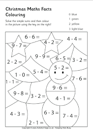 math addition coloring pages with subtraction maths facts colouring regarding worksheets