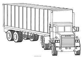 Subscribe to the free printable newsletter. Free Printable Truck Coloring Pages For Kids