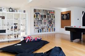 billy bookcase can act as a movable room divider if you add castors to it