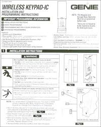 how to program a genie remote craftsman garage door keypad craftsman garage door opener programming remote