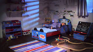 image of thomas and friends toddler bed boy