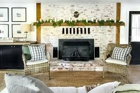 whitewash brick fireplace rustic whitewashed brick fireplace whitewash brick fireplace pros and cons whitewash brick fireplace