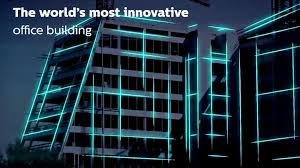 building facade lighting. Control Your Office Lighting With A Smart Phone Building Facade