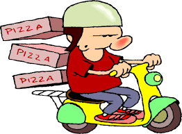 pizza delivery clipart. Wonderful Delivery In Pizza Delivery Clipart