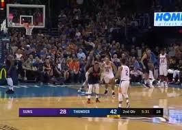 Thunder Basketball Seating Chart 10 28 18 Elie Okobo Vs Thunder Highlights Phoenix Suns