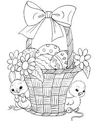 Easter Chicks Coloring Pages Cantierinformaticiinfo