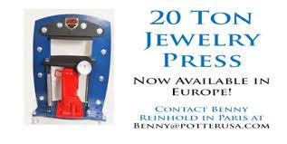 20 ton hydraulic jewelry press ships from europe
