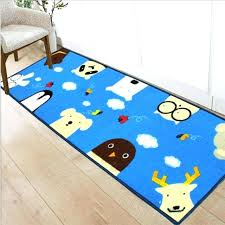 animal area rugs cartoon animal area rug bedside entry foot long pad soft machine washable rectangle animal area rugs
