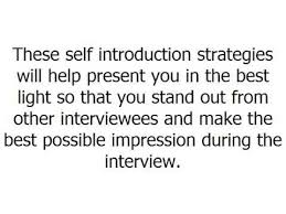 Interview Introduction 7 Self Introduction Strategies For A Successful Interview Careers