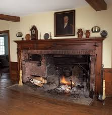 old fashioned colonial cooking hearth