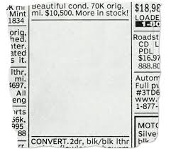 Newspaper Classified Ads Template Newspaper Ads Template Wsopfreechips Co