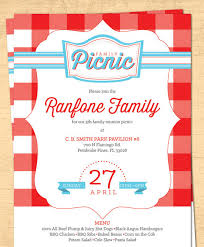 Neighborhood Block Party Bbq Picnic Summer 5×7 Invite 8 5 Blank ...