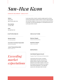 Red Creative Resume Template Free Resume Templates Creative