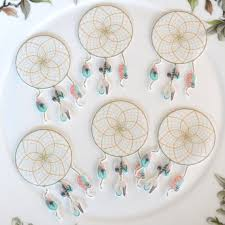 Dream Catcher Without Feathers Edible Dreamcatcher Cotton Candy Feathers x100 Boho Sweet Dream 37