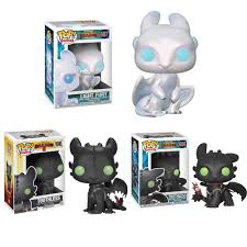 Light Fury Funko Us 10 69 20 Off Pop How To Train Your Dragon Toothless Light Fury Figure Model Toy 10cm Pvc Doll Collection Toys For Children Christmas Gifts In