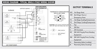 wiring diagram ac thermostat wiring image wiring heating and cooling thermostat wiring diagrams for multiple stages on wiring diagram ac thermostat