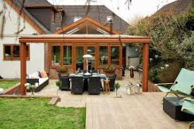 The perfect way to make those warm Summer nights stretch out even longer,  verandas are a simple form of shelter that highlights your outside dining  area.