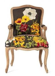 beautiful rich fl fabric fl fabricupholstered chairsdining