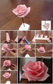 Tissue Paper Flower Tutorials Pin On Tissue Paper Flowers Diy