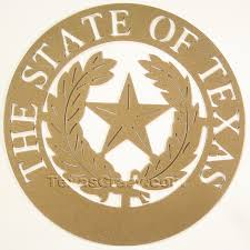 buy state seal of texas metal art wall plaque