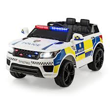 Costzon Kids Ride on Car, <b>12V</b> Battery Powered Electric Police ...