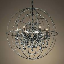 black candle chandelier wrought iron