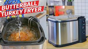 Butterball Electric Fryer Cooking Chart Watch Butterball Turkey Deep Fryer Review For Thanksgiving