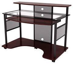 best computer furniture. zline designs cyrus computer desk cherryblack larger front best furniture