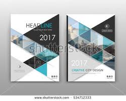 Cover Sheet Design Business Magazine Cover Page Design In Blue Abstract Shape
