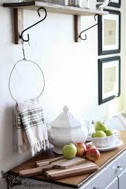 kitchen towel holder. DIY Primitive Kitchen Towel Holder N