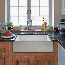 kitchen farm style kitchen sink overmount farmhouse sink white