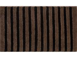 bathroom rugs krakonos black brown