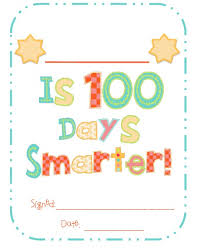 100 Days Of School Worksheets#1377857 - Myscres
